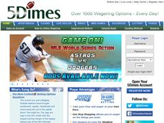 5Dimes Homepage